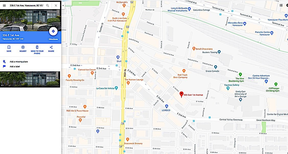 Buddha Weekly Map to Zuru Ling 336 East 1st Avenue sutie 318 Buddhist Meditation Centre Buddhism
