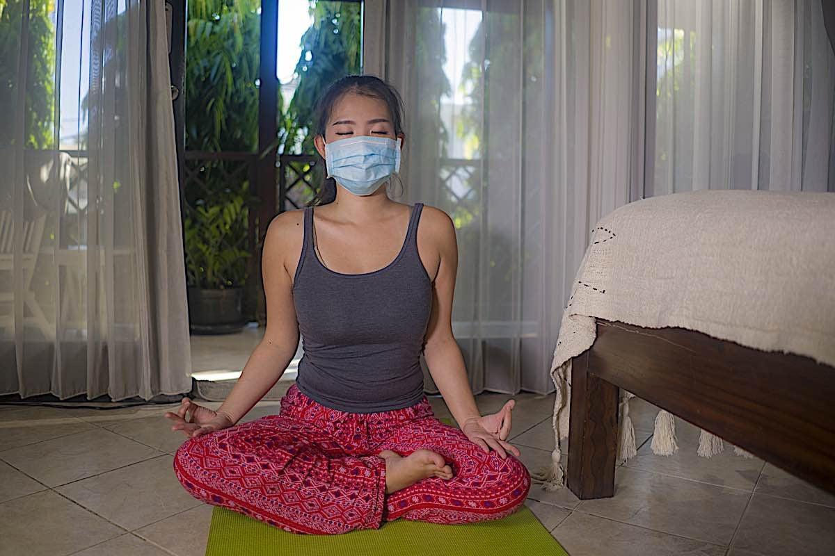 Buddha Weekly Meditate at home stay safe Buddhism
