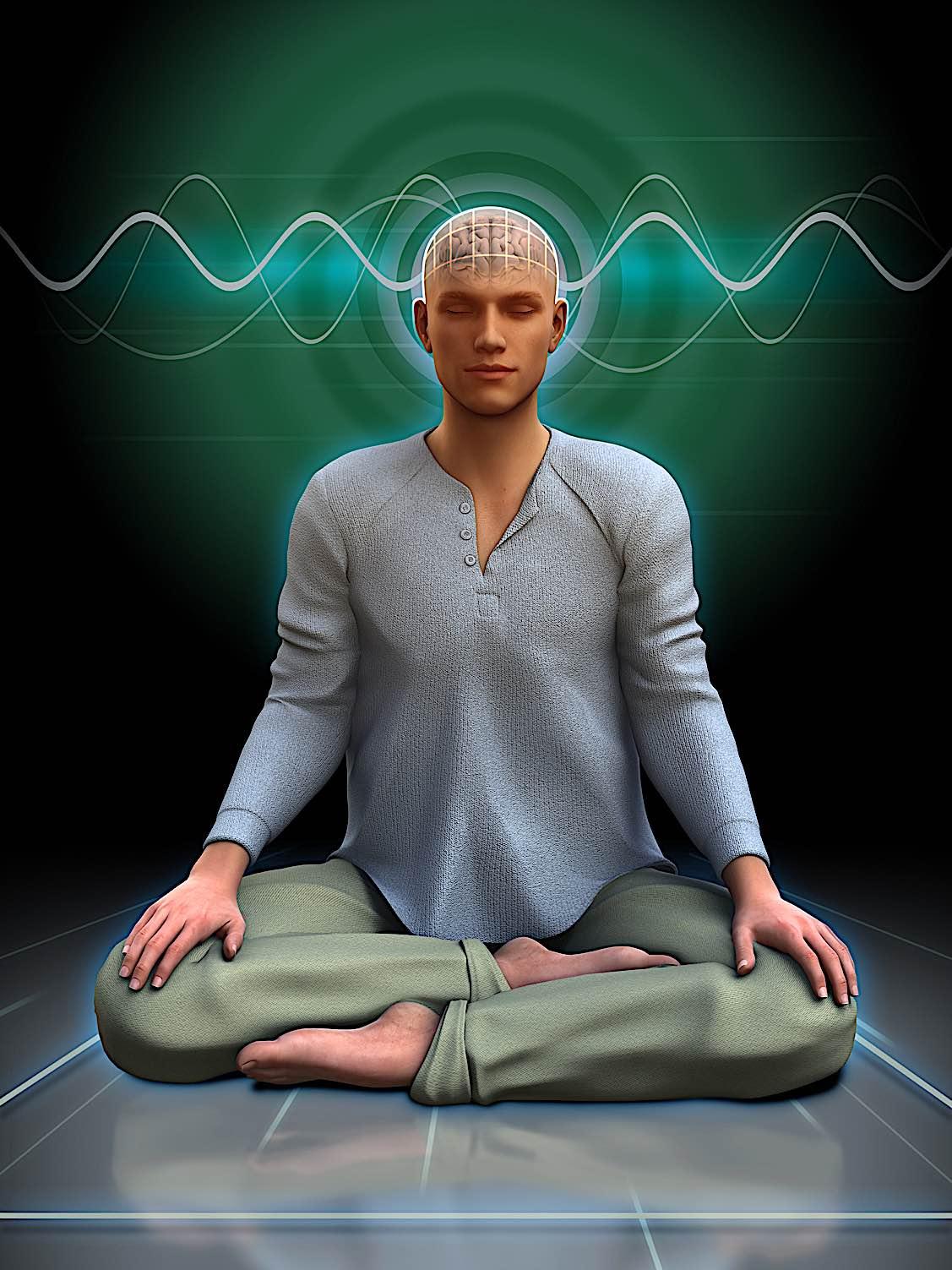 Buddha Weekly Meditation brainwaves Buddhism