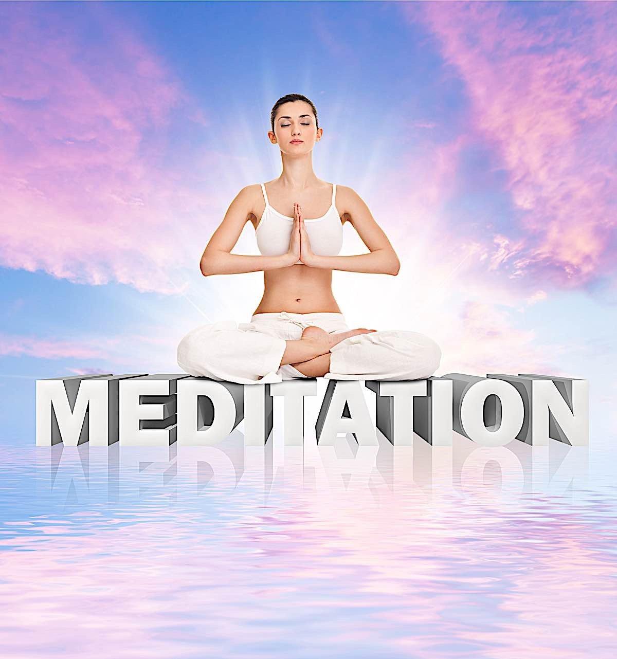 Buddha Weekly Meditation graphic Buddhism