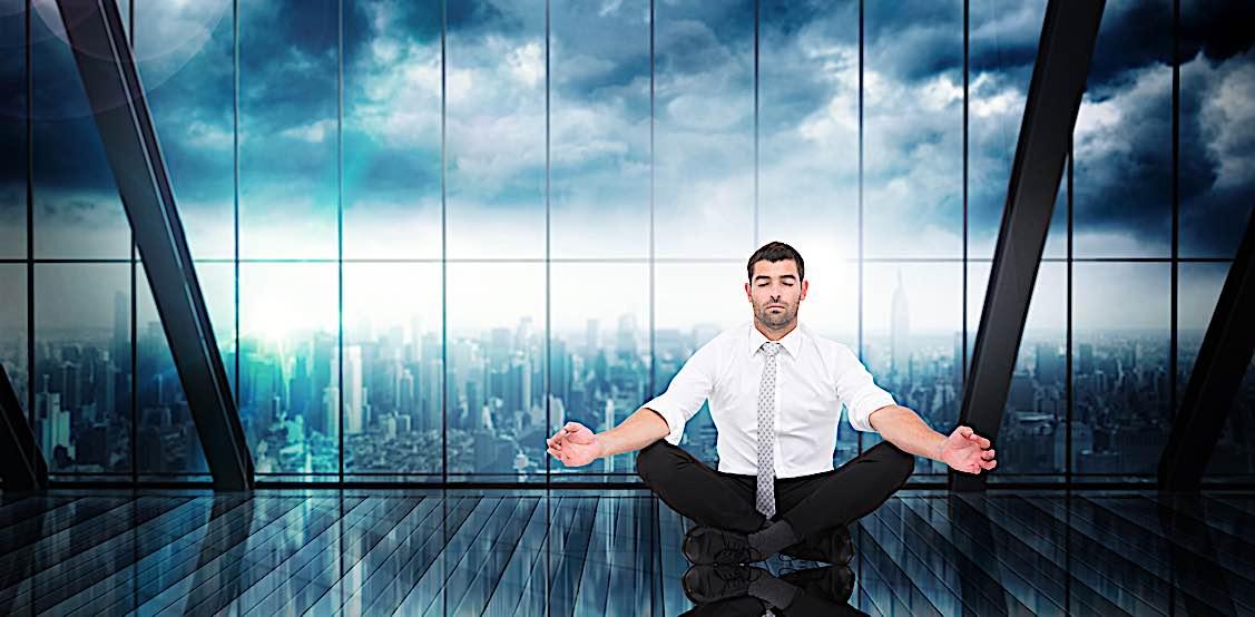 Buddha Weekly Meditation in office Buddhism