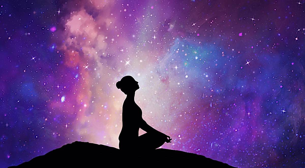 Buddha Weekly Meditation on mountaintop Buddhism