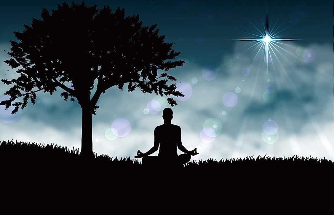 Buddha Weekly Meditation under a tree Buddhist Buddhism