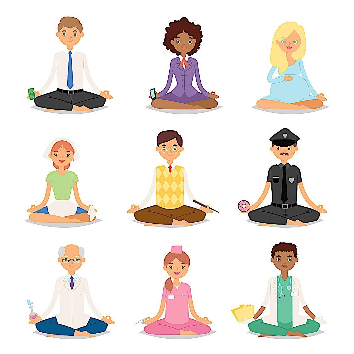 Buddha Weekly Meditation various types of people Buddhism
