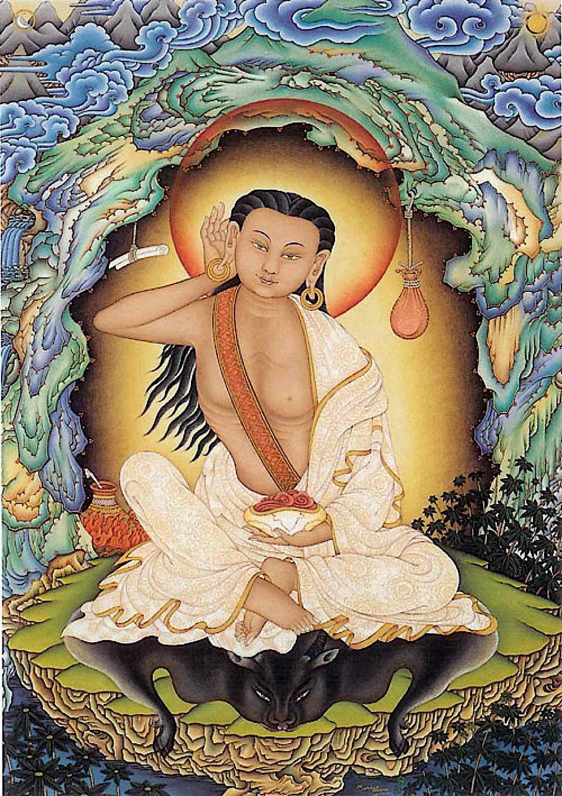 Buddha Weekly Milarepa by Robert Beer 2 Buddhism