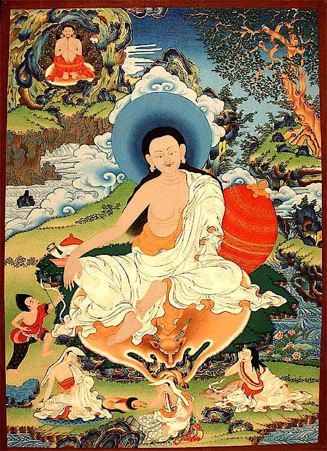 Buddha Weekly Milarepa with Marpa Buddhism