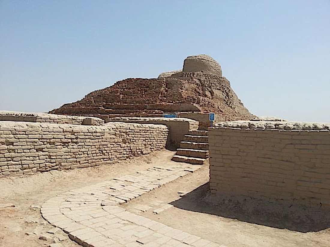 Buddha Weekly Mohenjo daro Stupa Buddhism