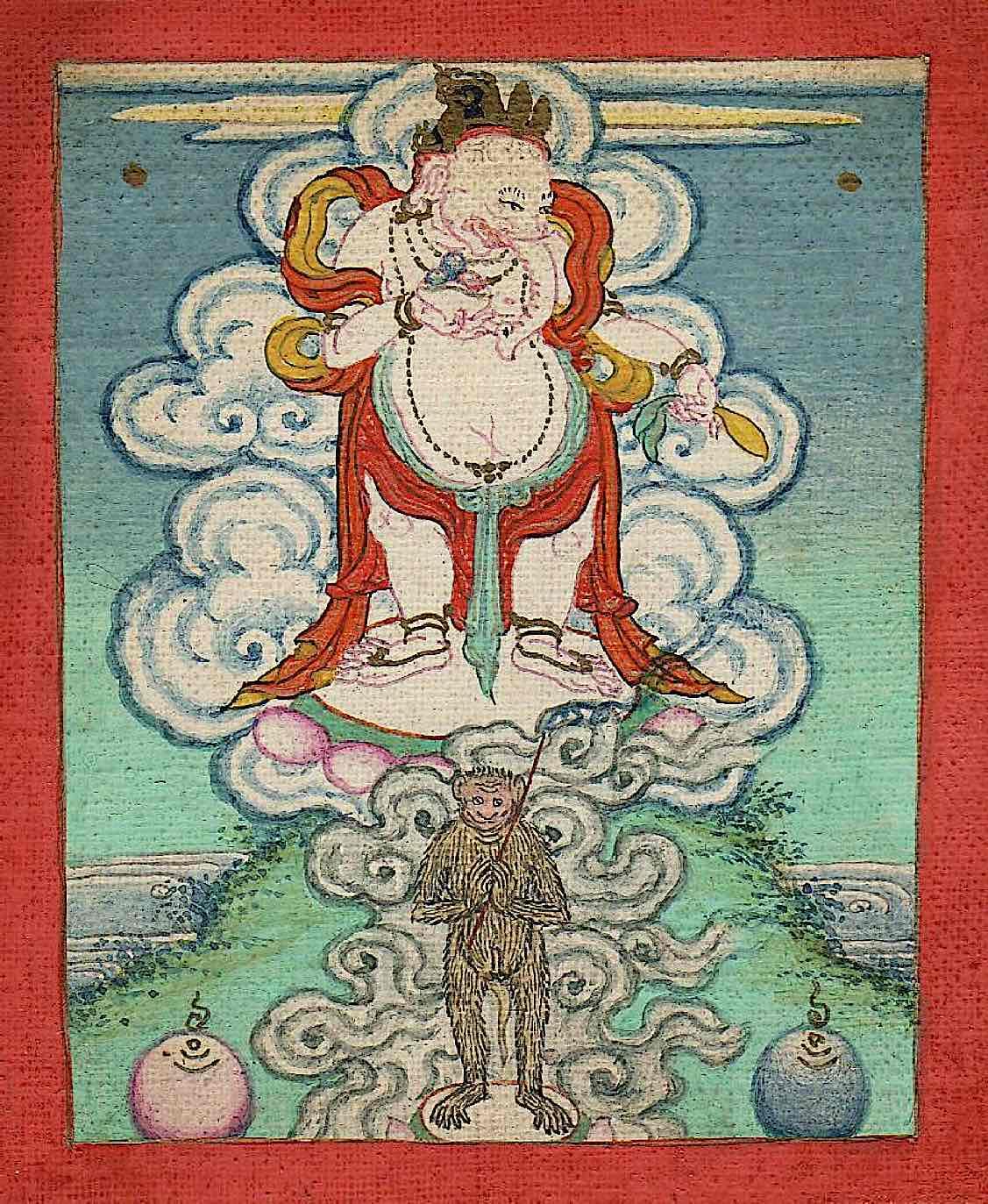 Buddha Weekly Mongolian Ganesha OLD Buddhism