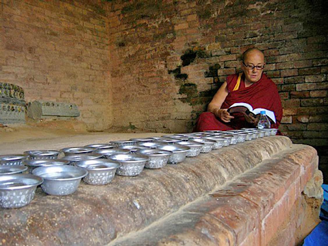 Buddha Weekly Nalanda Chasing Buddha to Nepal and India 2009 KM copy Buddhism