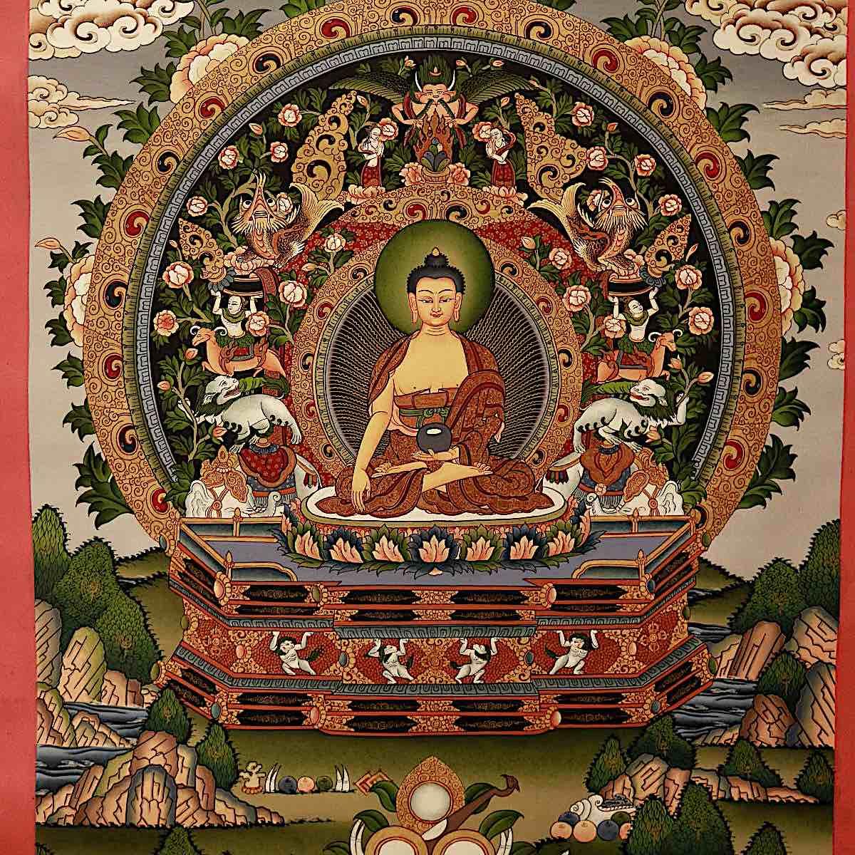 Buddha Weekly Nepali Thangka 1200x1200 Buddhism