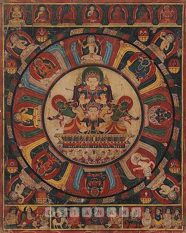Buddha Weekly Nepali Thangka 17c08a0bb2e7d708cbe991abab56704a Buddhism