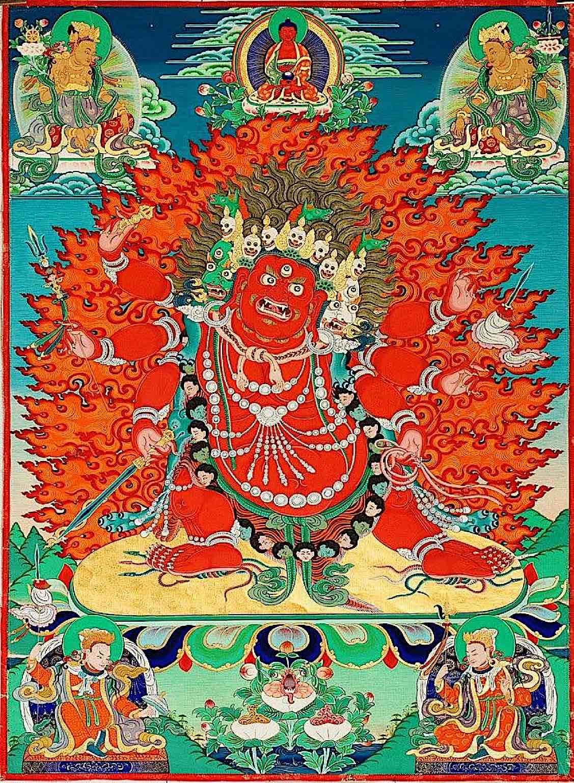 Buddha Weekly Nice Hayagriva Sang Drup Secret Accomplishment Buddhism