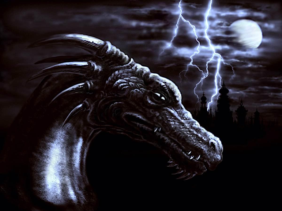 Buddha Weekly Night Dragon storm western dreamstime xxl 4775020 Buddhism
