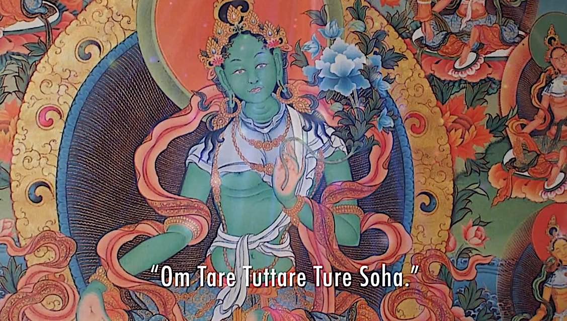 Buddha Weekly Om Tare Tuttare Ture Soha video mantra singing Yoko Dharma Buddha WEekly Buddhism
