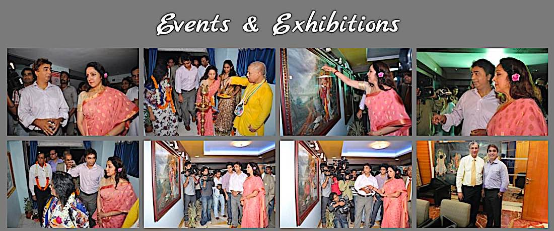 Buddha Weekly One of V V Sapar gallery events with well known bollywood actress Buddhism