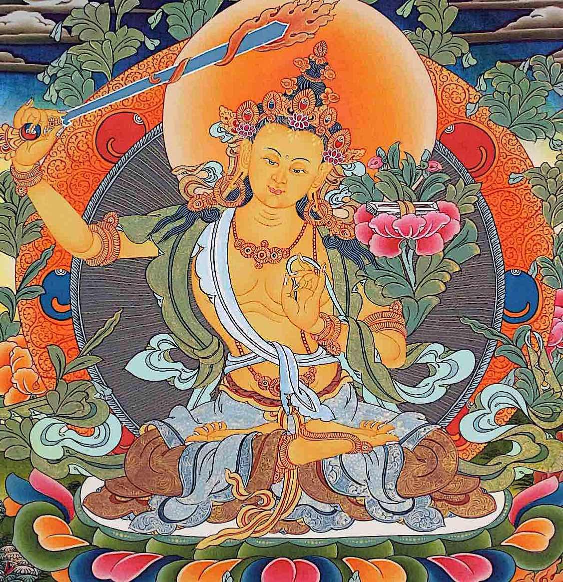 Buddha Weekly Orange Manjushri Buddhism