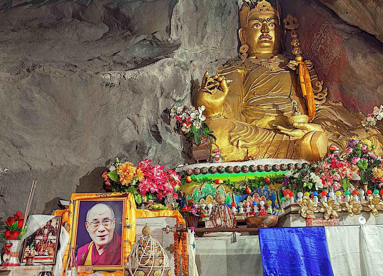 Buddha Weekly PADMASAMBHAVA CAVE REWALSAR INDIA by kiwisoul dreamstime xxl 75168019 Buddhism