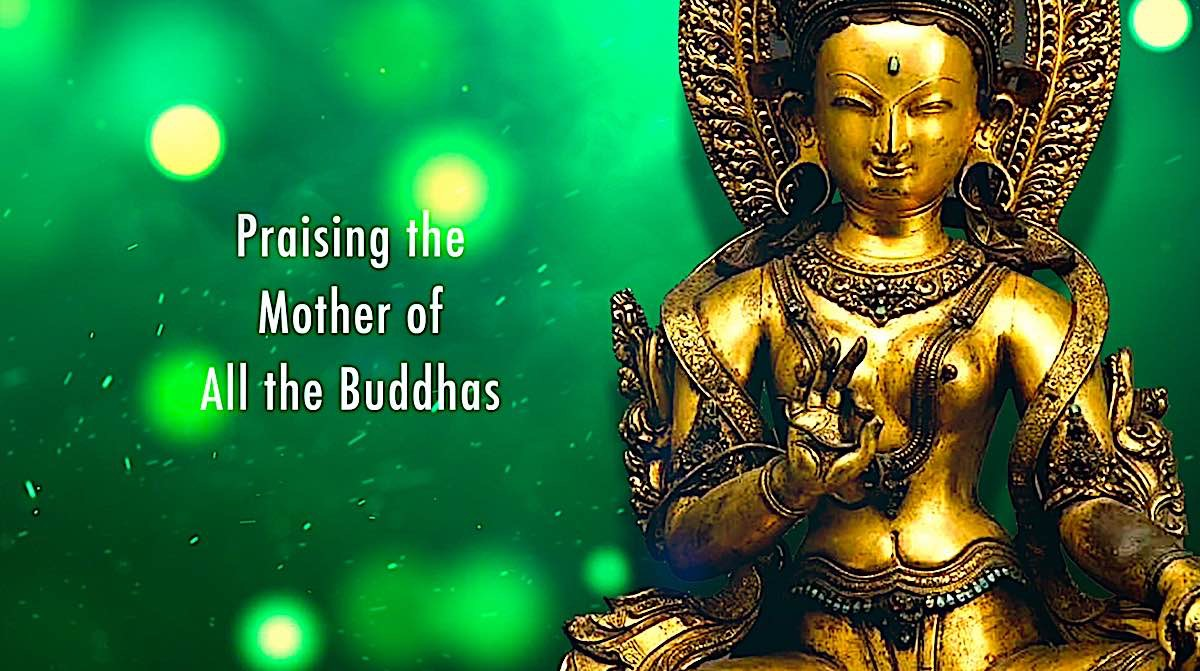 Buddha Weekly Praising the Mother of All the Buddhas Buddhism
