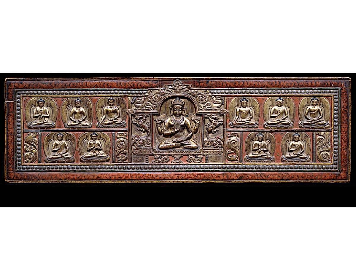 Buddha Weekly Prajanaparamita as both goddess and book cover Heart Stura Buddhism