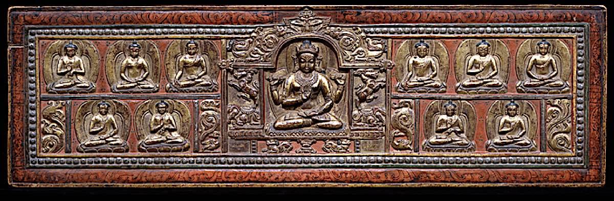 Buddha Weekly Prajanaparamita as both goddess and book cover Heart Sutra 2 Buddhism
