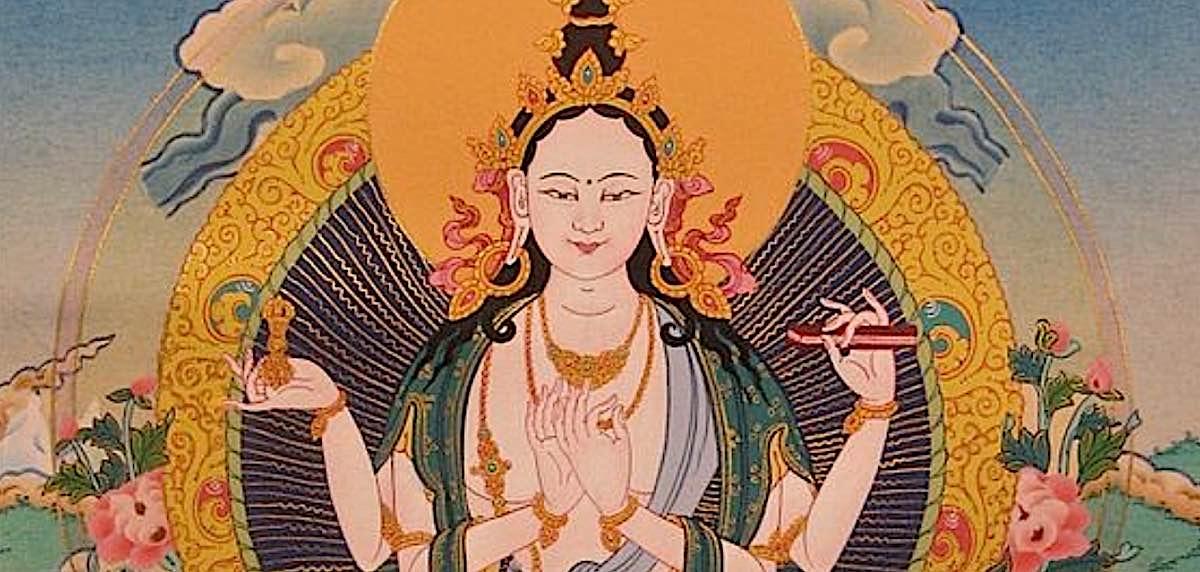 Buddha Weekly Prajnaparamita feature image Mother Goddess Buddhism