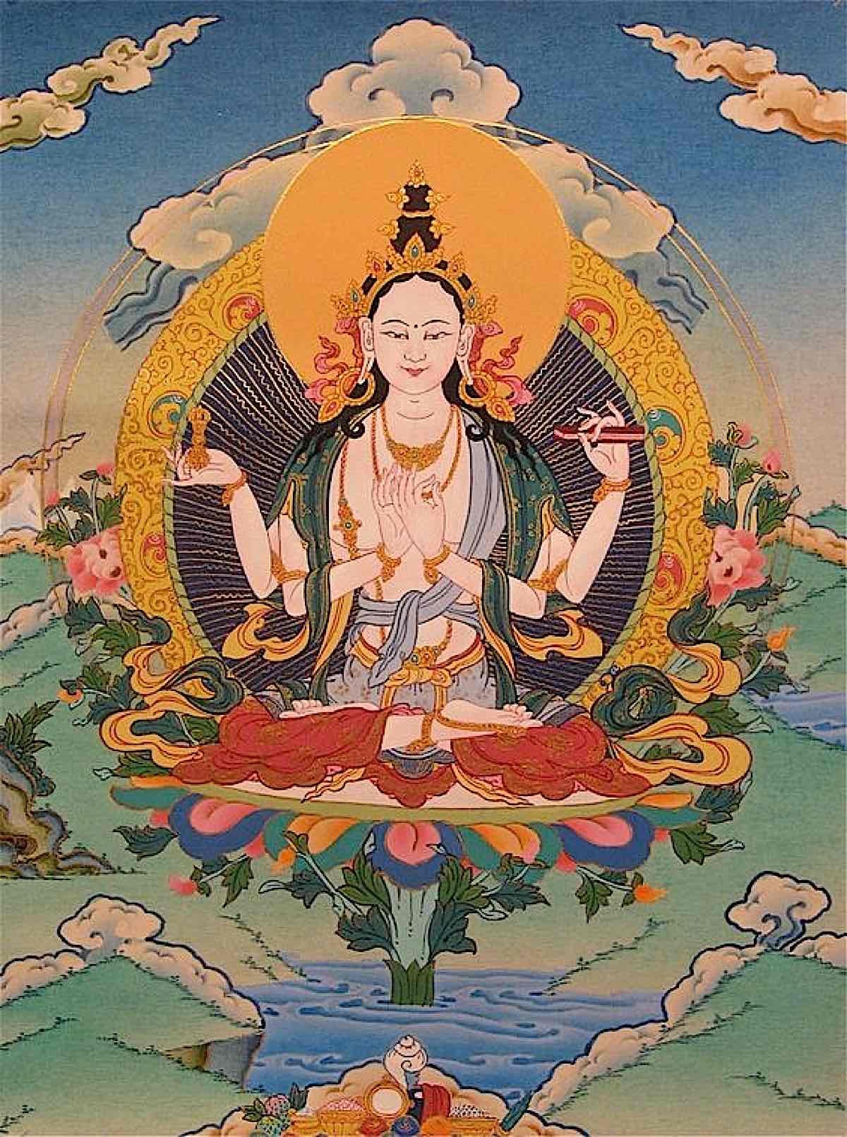 Buddha Weekly Prajnaparamita goddess mother Buddhism