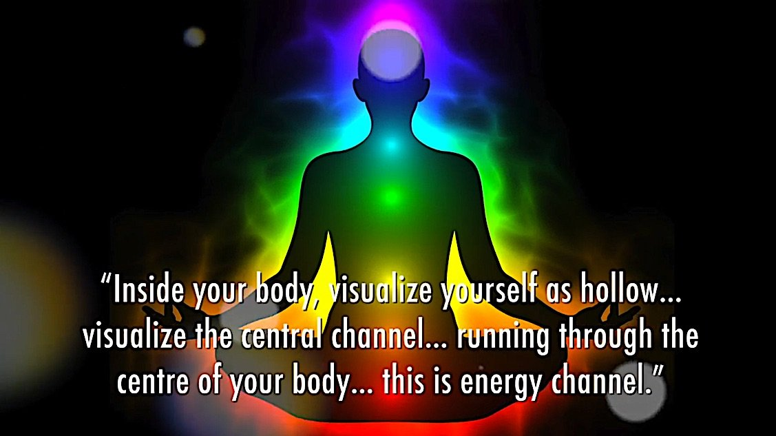 Buddha Weekly R Central channel in your hollow body Buddhism