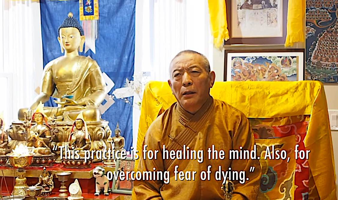 Buddha Weekly R For healing the mind and vercoming fear of death Buddhism