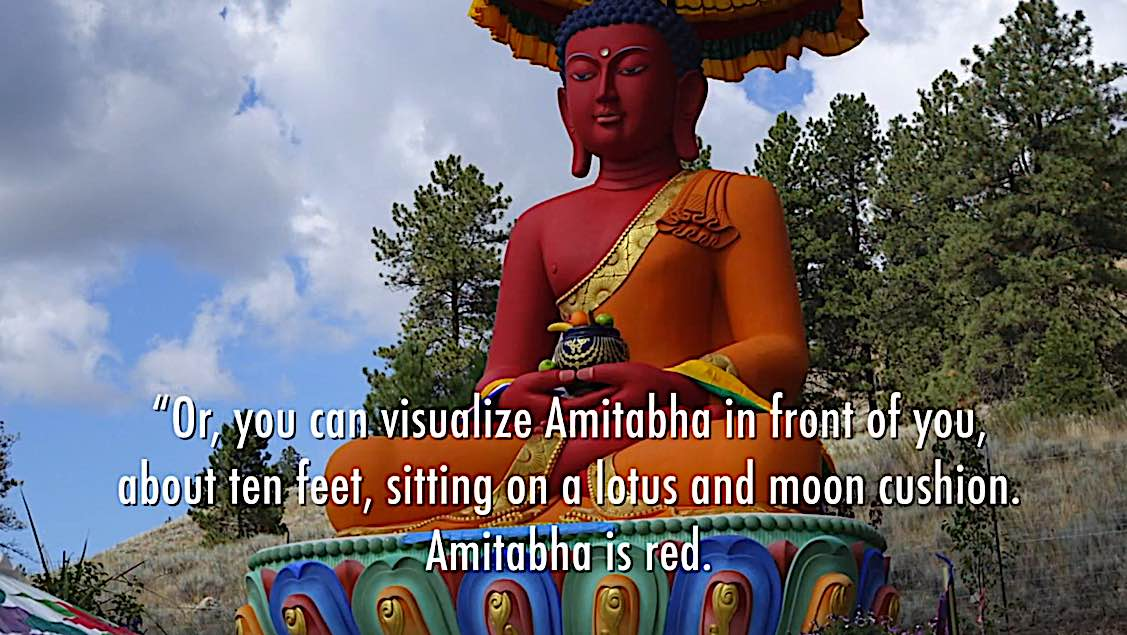 Buddha Weekly R Visualize Amitabha in front of you Buddhism