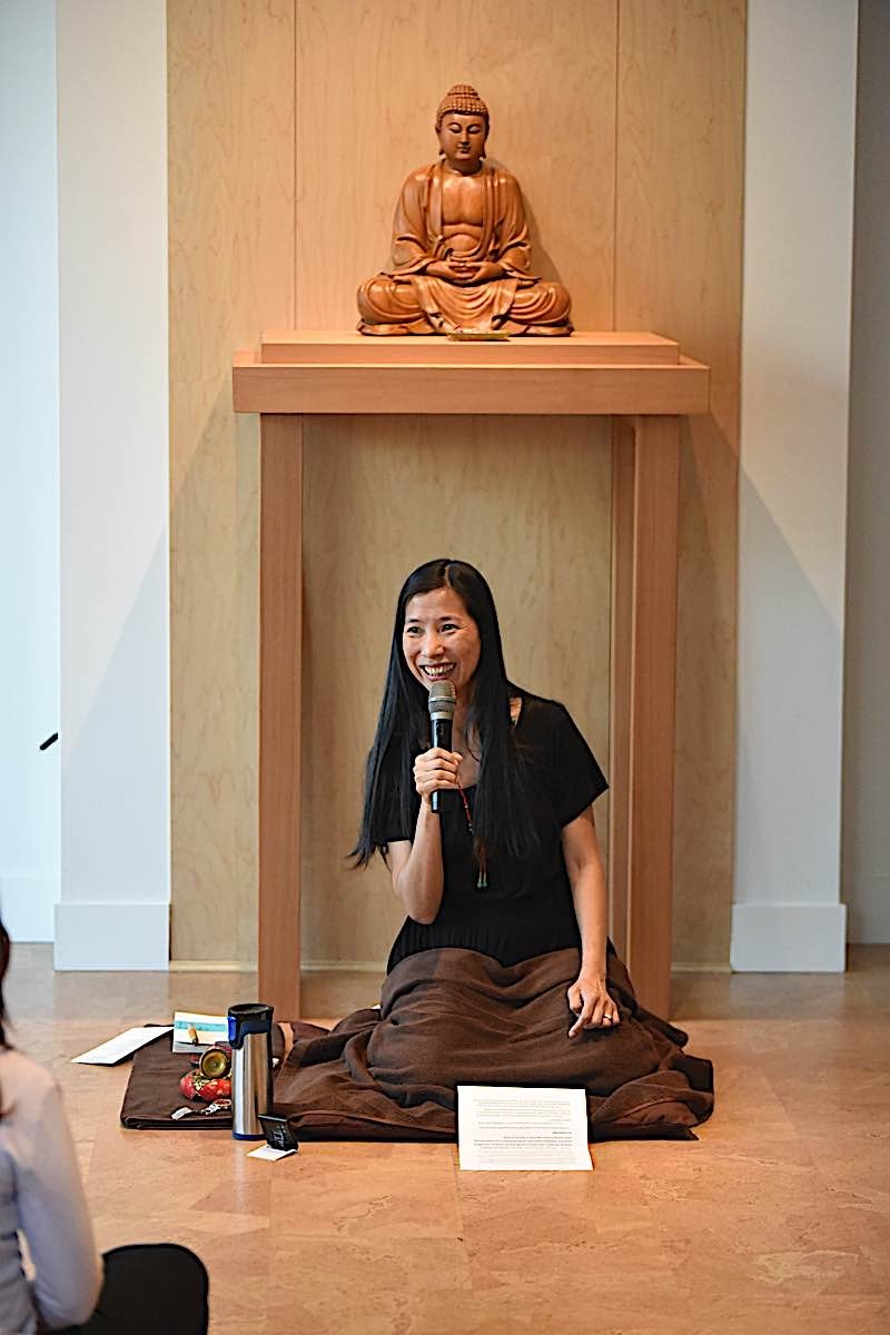 Buddha Weekly Rebecca Li Photo Teaching Buddhism