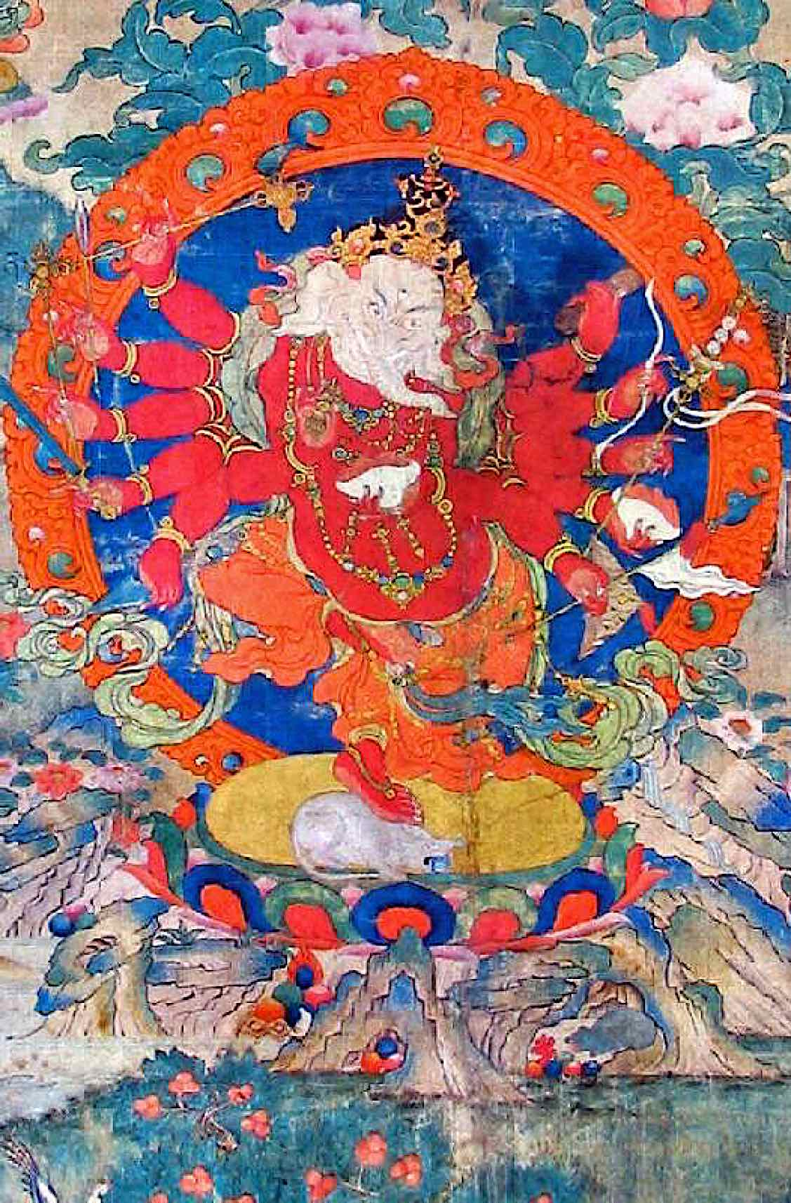 Buddha Weekly Red Ganapati Buddhism