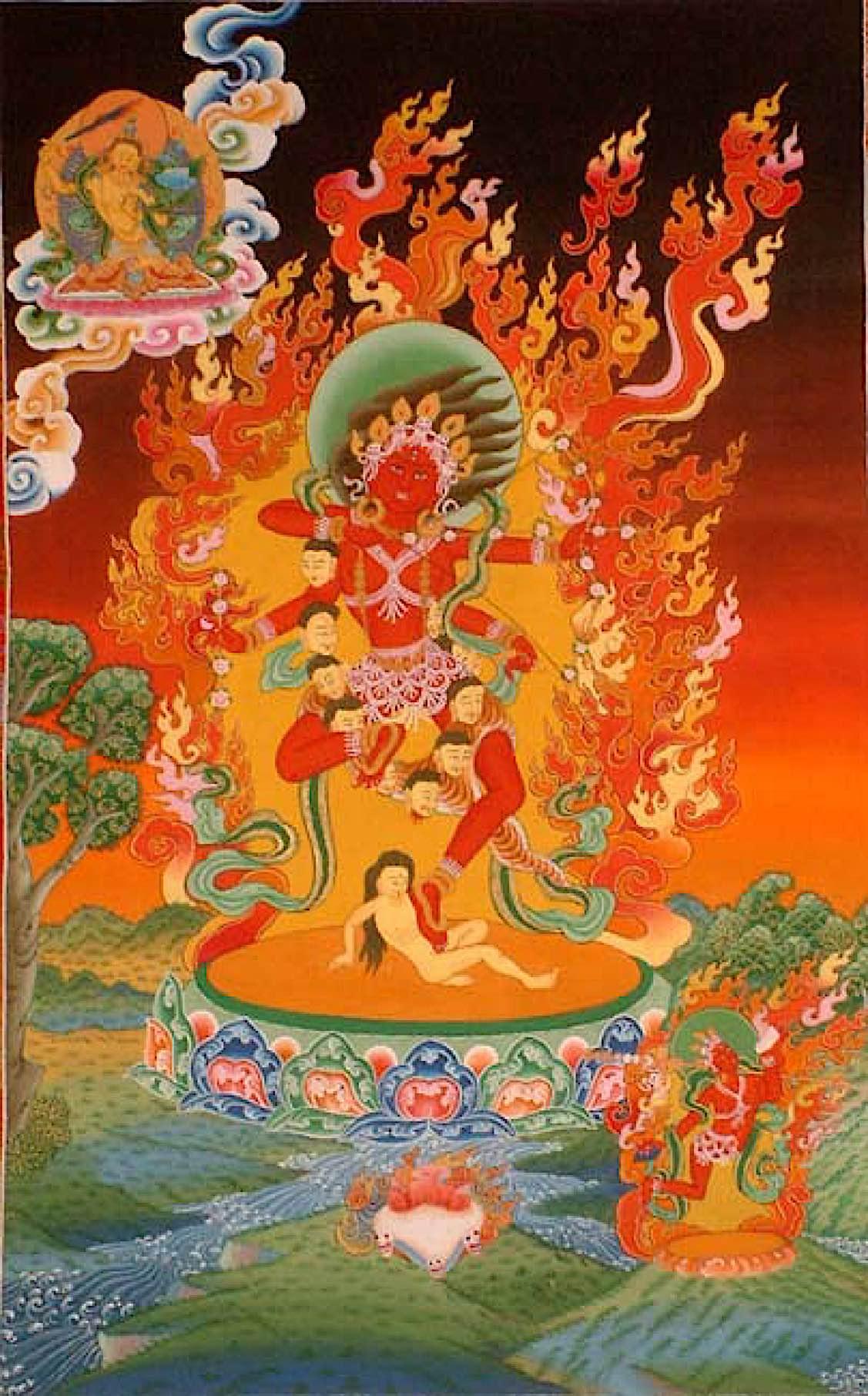 Buddha Weekly Red tara kurukulla Buddhism