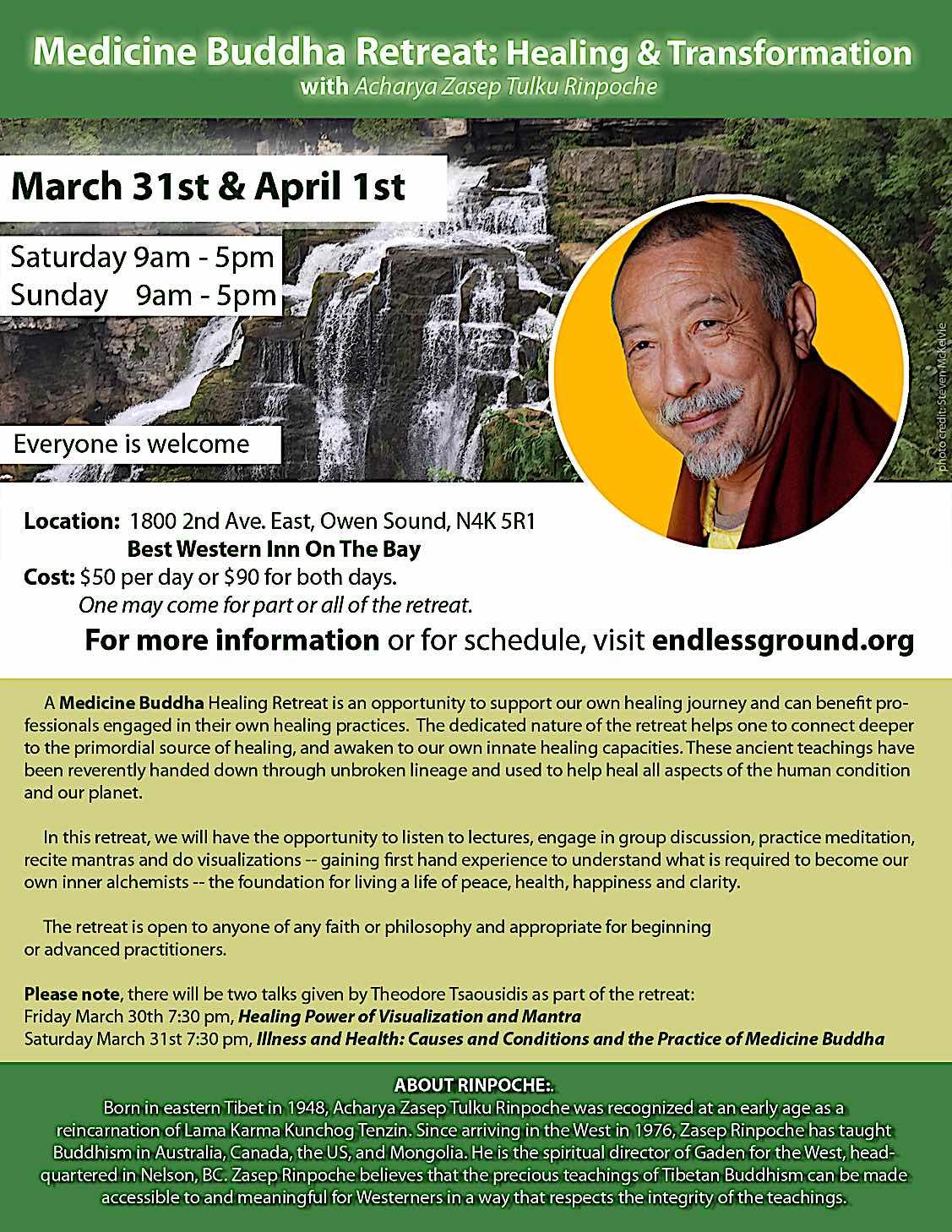 Buddha Weekly Rinpoche OS Poster 2017.FINAL .8x11 Buddhism