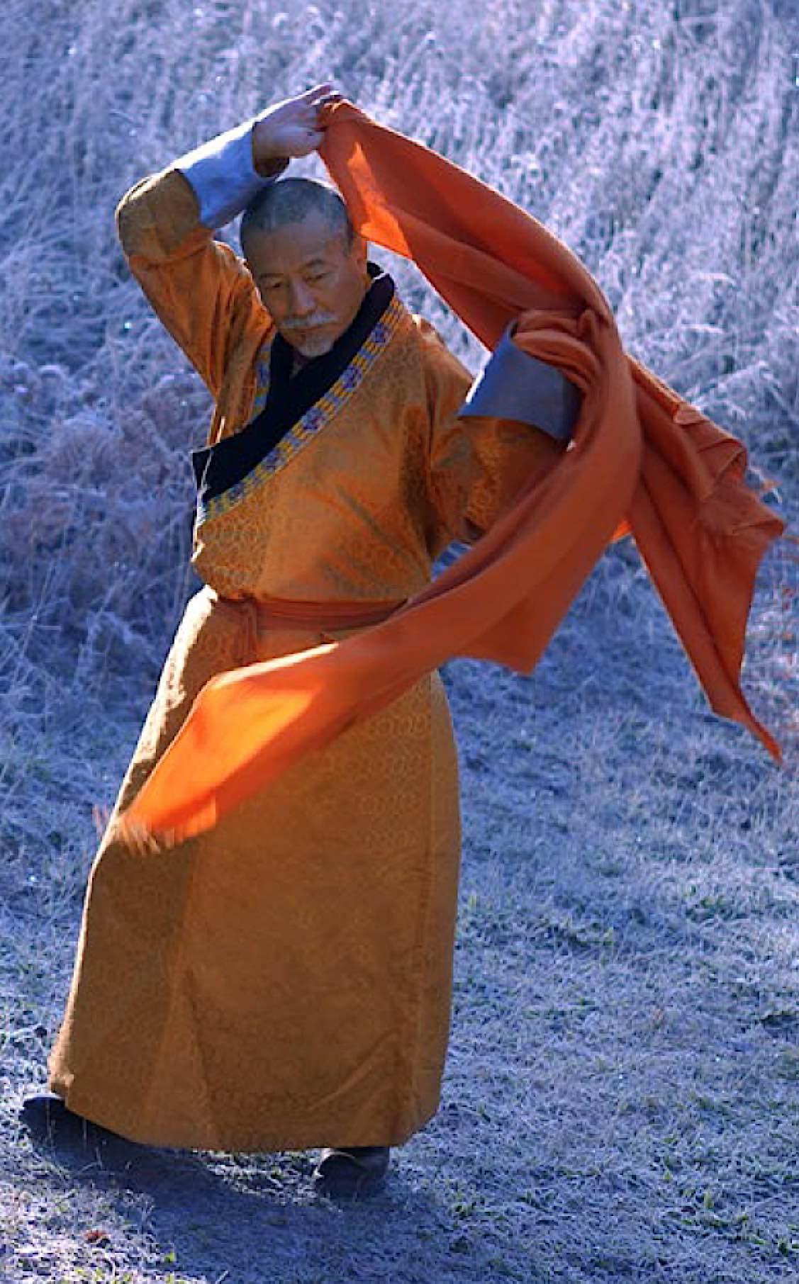 Buddha Weekly Rinpoche beautiful shot walking Photo by Gabriela Reyes Fuchs Buddhism