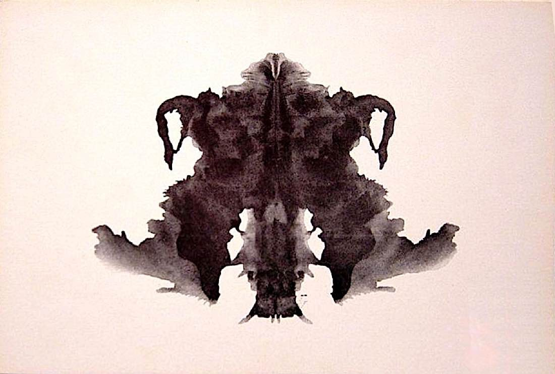 Buddha Weekly Rorschach blot 04 Buddhism