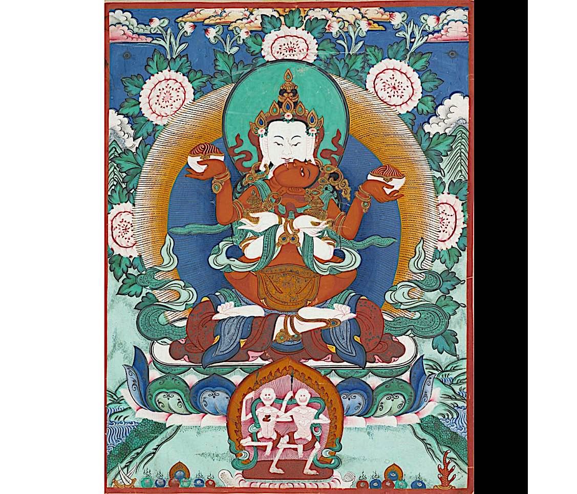 Buddha Weekly Royal Ontario Museum White Heruka and Vajrayogini Ulmapa tradition Buddhism 1