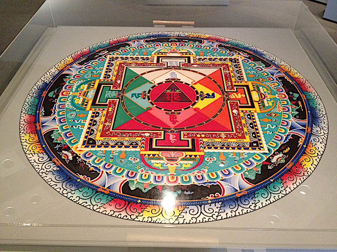 Buddha Weekly Sand mandala of Hayagriva Buddhism