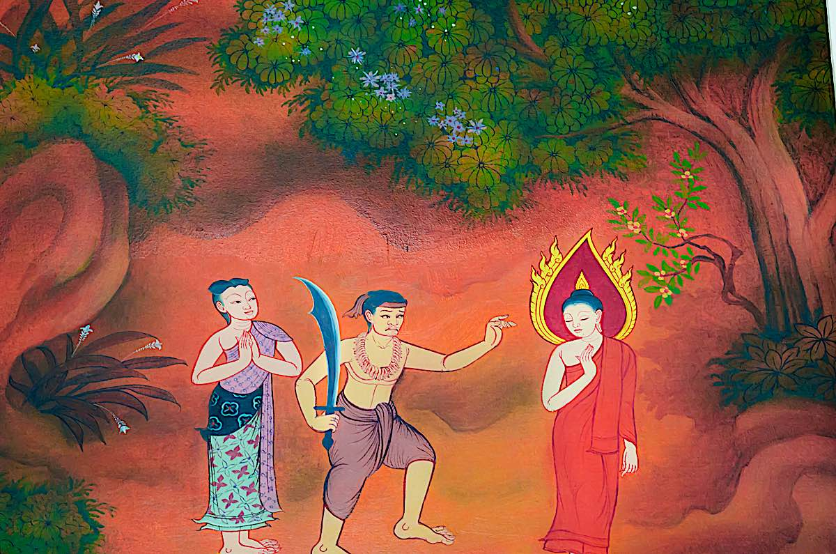 Buddha Weekly Serial killer Angulimala and Buddha Buddhism