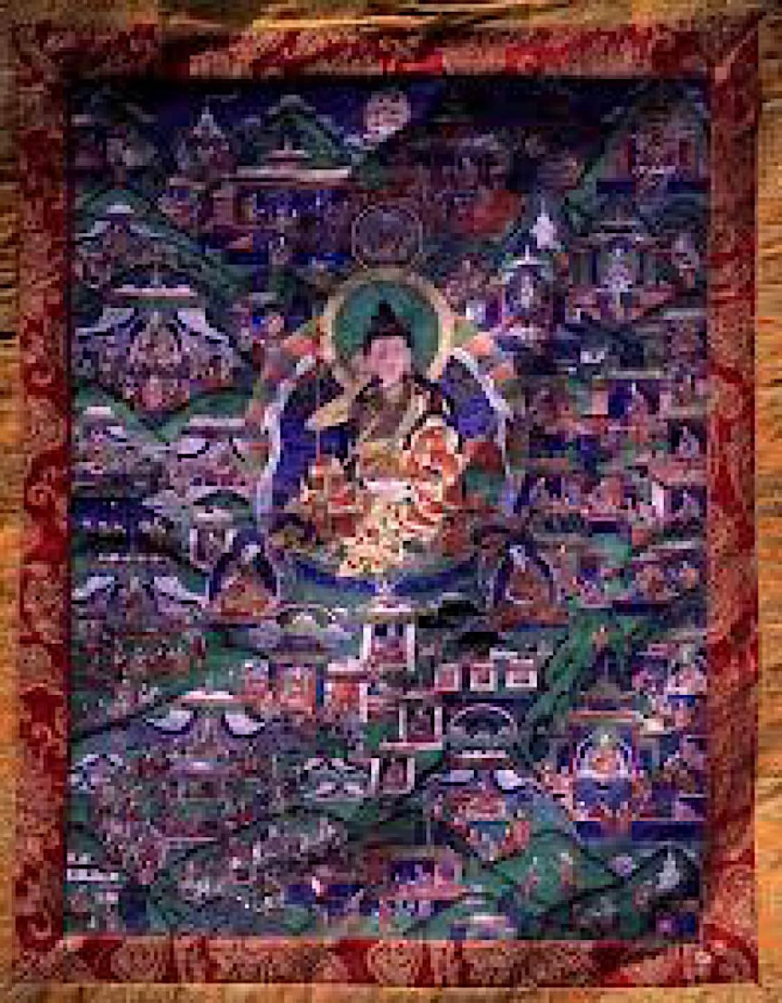 Buddha Weekly Shabkar thangka Buddhism