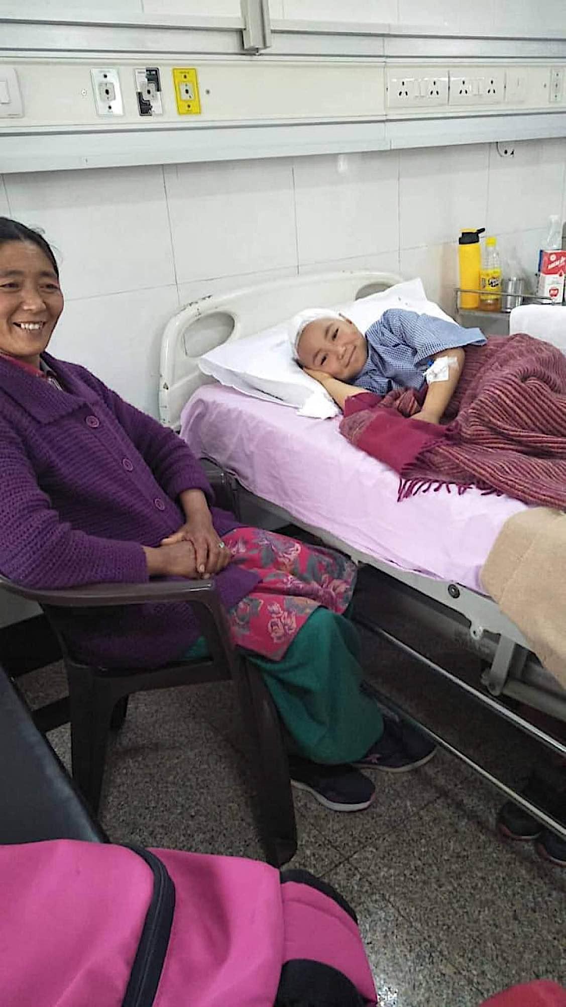 Buddha Weekly Stanzin with her mother Buddhism