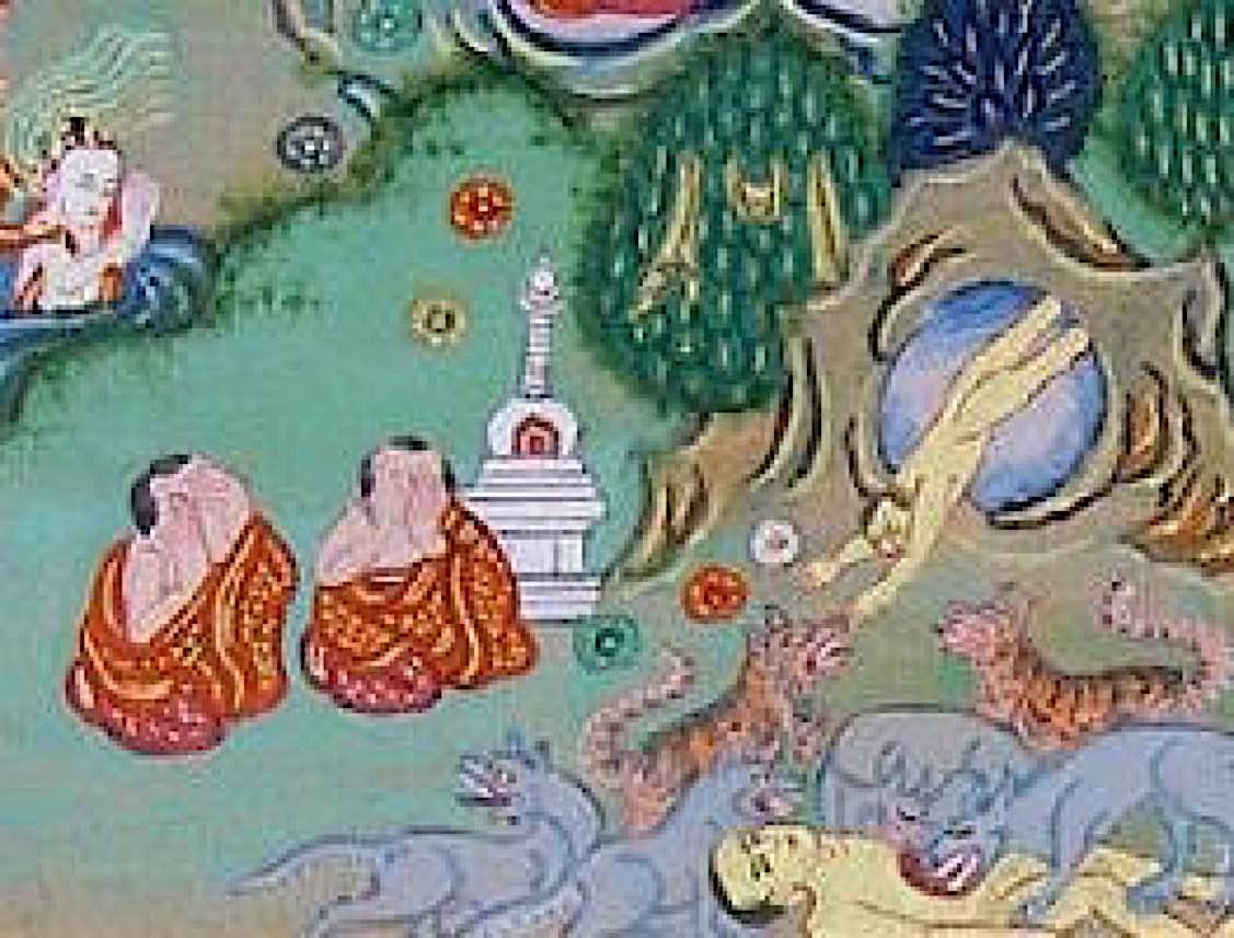 Buddha Weekly Starving Tiger Jataka Tales Buddha Buddhism