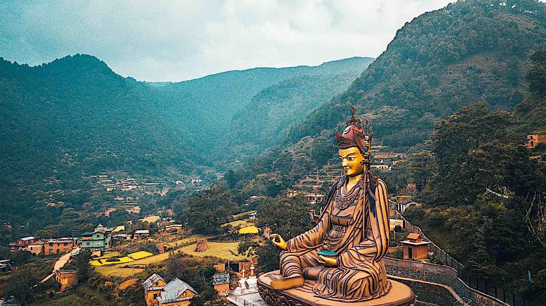 Buddha Weekly Statue Temple of Guru Padmasambhava Kathmandu Nepal photo Raimond Kavins dreamstime xxl 208739378 Buddhism