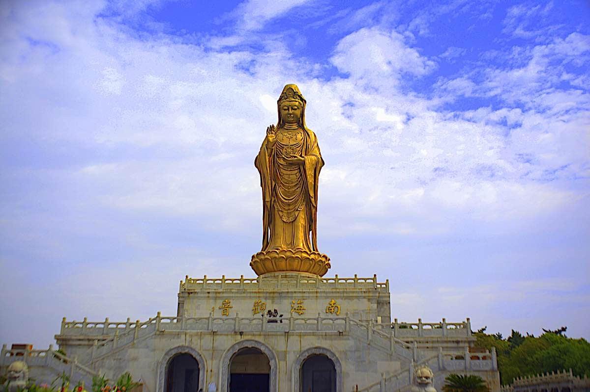 Buddha Weekly Statue of Guanyin Mt Putuo China Buddhism