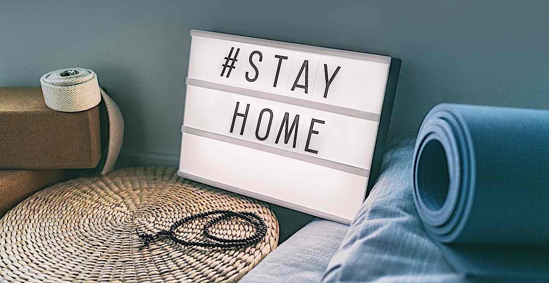 Buddha Weekly Stay home hashtag meditation Buddhism