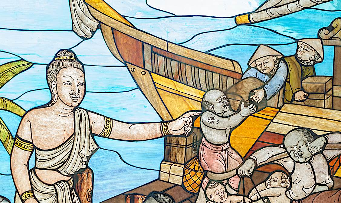 Buddha Weekly Story of Mahajanaka BUddha Jataka Tales Buddhism