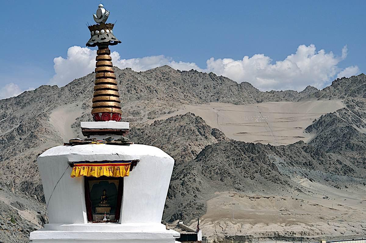 Buddha Weekly Stupa in Ladakh 27047366 Buddhism