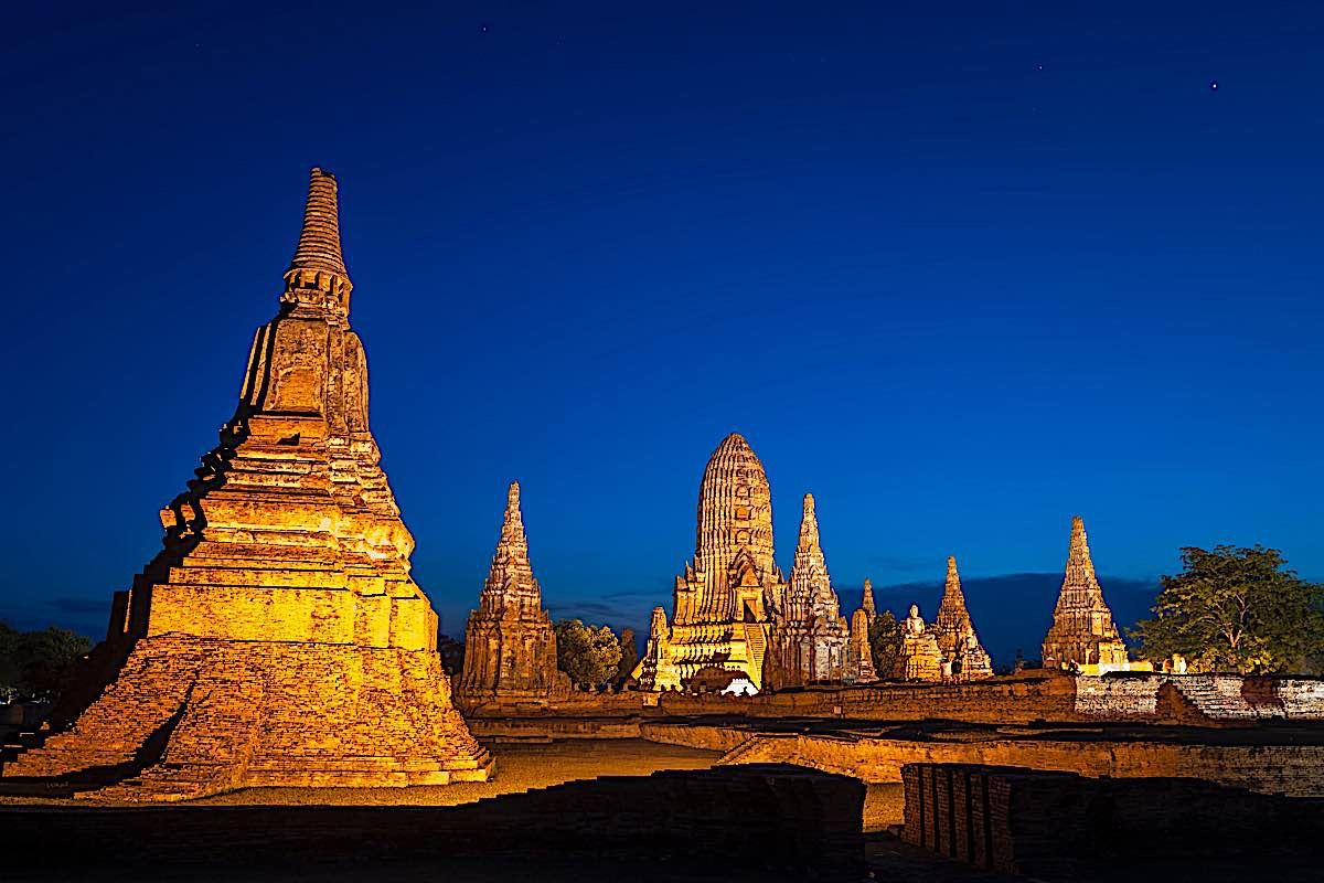 Buddha Weekly Stupas at Ayutthaya site Thailand wat Phasisanphet Ayuthaya 142469138 Buddhism