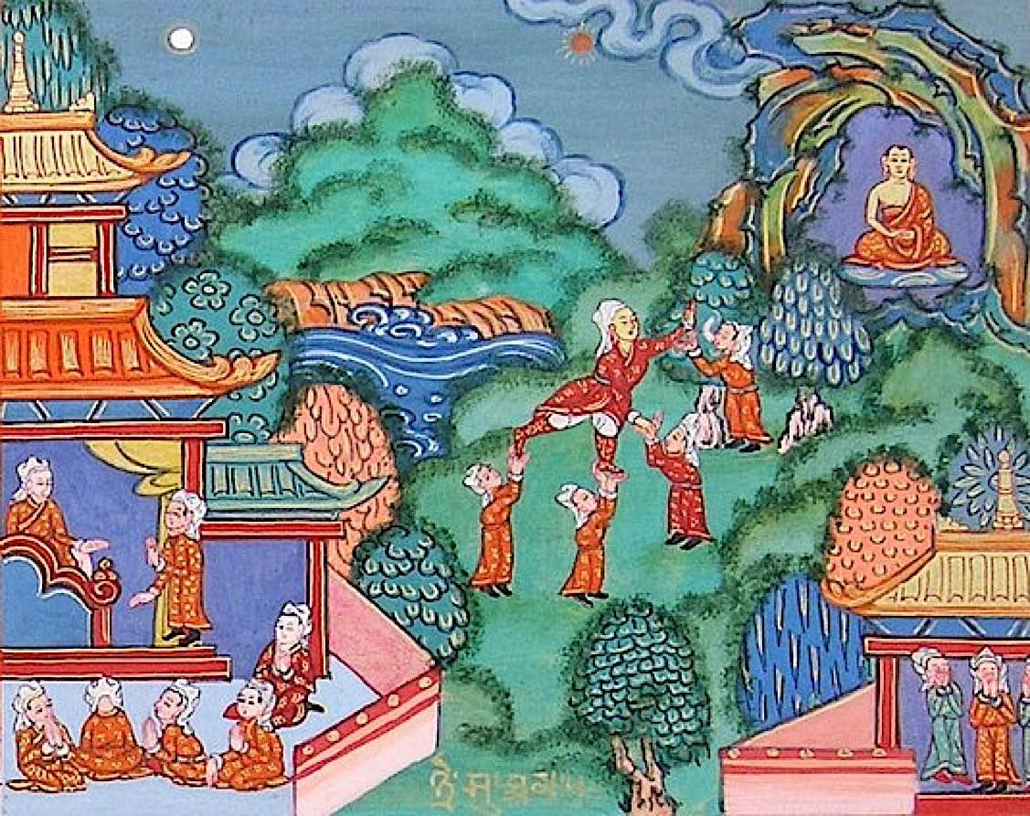 Buddha Weekly Tale of the Treasurer Buddha Jataka tale Buddhism