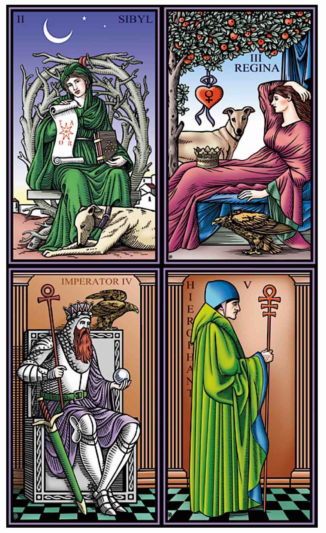 Buddha Weekly Tarot of the Sevenfold Mystery Robert Place Buddhism 1
