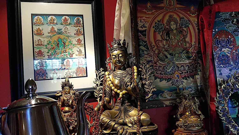 Buddha Weekly Tea with Green Tara and Twenty One Taras Buddhism